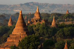 Temples of Bagan Royalty Free Stock Photography