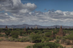 Temples of Bagan Royalty Free Stock Images