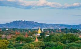 The Temples of bagan at sunrise, Bagan, Myanmar Royalty Free Stock Image