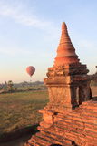 The Temples of bagan at sunrise, Bagan, Myanmar Royalty Free Stock Image