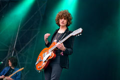 Temples (band) in concert at Heineken Primavera Sound 2014 Festival (PS14) Royalty Free Stock Photo