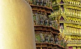 Temples in Bangkok, Thailand Royalty Free Stock Photos