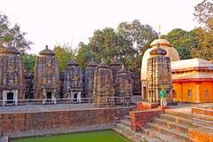 Temples of Bindu Sarovar Stock Photography