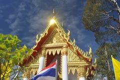 Temples bouddhistes en Thaïlande Photo libre de droits