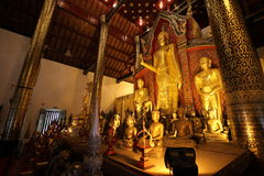 Temples in Chiang Mai.Thailand. Royalty Free Stock Images