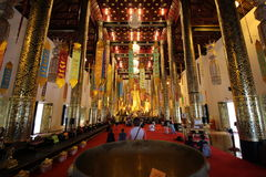 Temples in Chiang Mai.Thailand. Stock Image