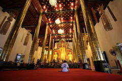 Temples in Chiang Mai.Thailand. Royalty Free Stock Photos