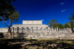 The temples of chichen itza temple Stock Images