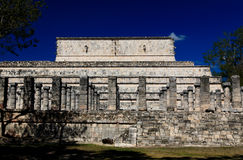 The temples of chichen itza temple Stock Photos