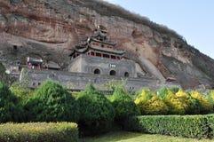Temples chinois Image libre de droits