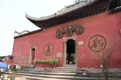 Temples chinois antiques photos stock