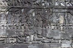 Temples d'Angkor Images libres de droits