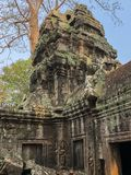 Temples d'Angkor Cambodge images stock