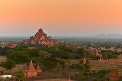 Temples dans Bagan Image libre de droits