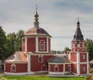 Temples dans Suzdal Images libres de droits