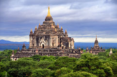 Temples de Bagan Myanmar Photo libre de droits