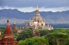 Temples de Bagan Myanmar Image libre de droits