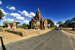 Temples de Bagan Myanmar Photos stock