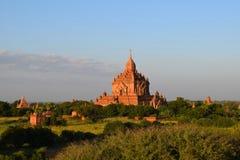 Temples de Bagan, Myanmar Photos libres de droits