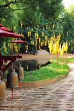 Temples de buddist de Chiang Mai - Wat Phan Tao photographie stock libre de droits