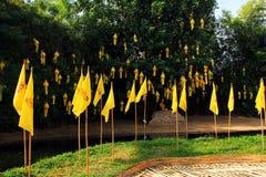 Temples de buddist de Chiang Mai - Wat Phan Tao, détails photographie stock libre de droits