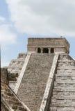 Temples de Chichen Itza Images libres de droits