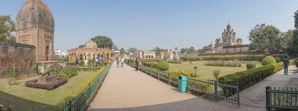 Temples de Kalna, Burdwan images libres de droits