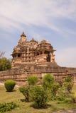 temples de khajuraho de l'Inde Images libres de droits