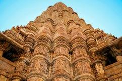 Temples de Khajuraho, Ràjasthàn, Inde Photo libre de droits