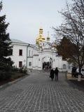 Temples de Kiev Image libre de droits