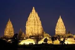 Temples de Prambanan Image libre de droits