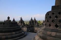 Temples de renommée mondiale de Borobudur Photographie stock libre de droits
