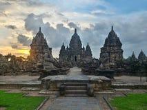 Temples de Sewu Images stock
