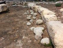 Temples de Tarxien image libre de droits