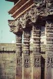 Temples of Durbar Square in Bhaktapur, Kathmandu, Nepal. Royalty Free Stock Photography
