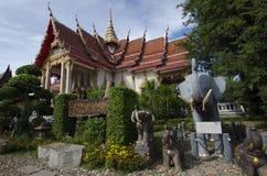 Temples en Thaïlande Photos stock