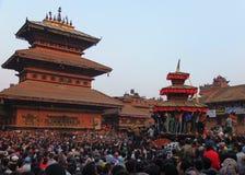 Temples et festivals, Népal Photographie stock libre de droits