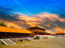 Temples of the Forbidden City Stock Photo