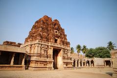The temples of Hampi, Karnataka, India Royalty Free Stock Image