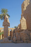 Temples of Karnak (ancient Thebes). Luxor, Egypt Stock Photography