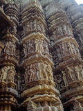 Temples at Khajuraho in India Royalty Free Stock Photography