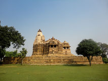 Temples at Khajuraho in India Stock Photo