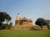 Temples at Khajuraho in India Stock Photo