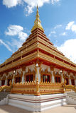 Temples at Khon Kaen Royalty Free Stock Photography