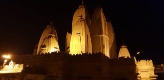 Temples les centres de la contemplation paisible pour Hindus Photo stock