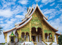 Temples in Luang prabang Stock Photos