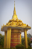 Temples in Lumbini Royalty Free Stock Images