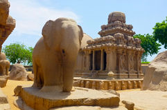 Temples, Mamallapuram, India Stock Photos