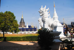 Temples, monasteries, holy, sacred, holy temples, faith. Sacred temple in Chiang Mai Thailand Stock Photo