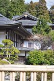 Temples in Mount Koya, Japan Stock Photo